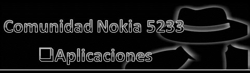 Aplicaciones Nokia 5233