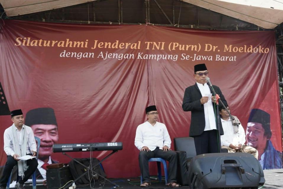 """Silaturahmi Kyai Kampung, Moeldoko: """"Ajengan Pembentuk Karakter Bangsa"""""""
